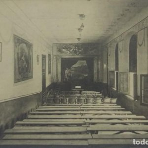 12 Barcelona. Escuela de reforma. Asilo Durán. Teatro.