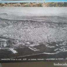 Postales: BARCELONA DESDE EL AIRE - A. ZERKOWITZ, 609 - FOTOGRÁFICA. Lote 147497410