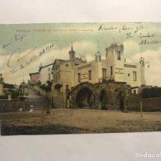 Postales: BARCELONA. POSTAL NO.44, FUNICULAR DE VALLVIDRERA . ESTACIÓN SUPERIOR EDITA: TARJETA POSTAL (A.1910. Lote 147536257