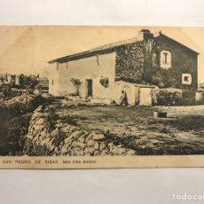 Postales: SAN PEDRO DE RIBAS (BARCELONA) POSTAL. MÁS D'EN BOSCH. EDITA: SAMSOT Y MISSE (H.1910?). Lote 147537000
