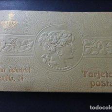 Postales: SABADELL BARCELONA ALBUM MODERNISTA ART NOUVEAU CIN 21 POSTALES BAZAR INDUSTRIAL RAMBLA 34. Lote 147761786