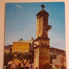 Postales: BLANES GERONA, COSTA BRAVA, FUENTE DE LA CRUZ. Lote 147874162