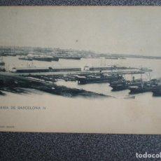 Postales: CATALUÑA BARCELONA PANORAMA BARCELONA IV HAUSER 686 POSTAL ANTIGUA. Lote 147968716