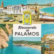 Postales: COSTA BRAVA, PALAMOS, GERONA. Lote 148003930