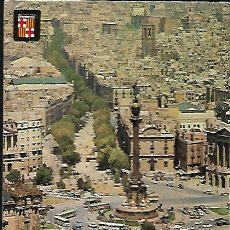 Postales: POSTAL * BARCELONA , MONUMENT A COLÓN * 1968. Lote 148210306