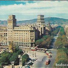 Postales: POSTAL * BARCELONA , PASSEIG DE GRÀCIA * ZERKOWITZ 1957. Lote 148210514