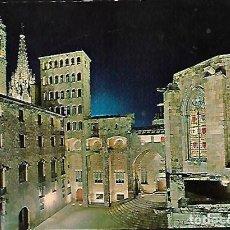 Postales: POSTAL * BARCELONA , PLAÇA DEL REI ,NIT * ZERKOWITZ 1966. Lote 148211606