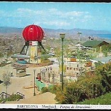 Postales: POSTAL * BARCELONA , MONTJUIC , PARC ATRACCIONS * 1968. Lote 148213414