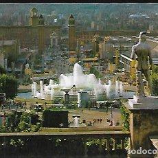 Postales: POSTAL * BARCELONA , FONT MONUMENTAL * 1962. Lote 148214074