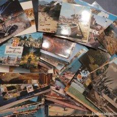 Postales: GRAN LOTE DE POSTALES DE CATALUÑA: 143 EN COLOR Y 11 EN BLANCO Y NEGRO. Lote 148216414