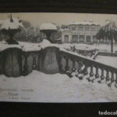 Postales: BARCELONA-NEVADA-PARQUE-FOTOGRAFICA ROISIN-6-POSTAL ANTIGA-(56.407). Lote 148356146