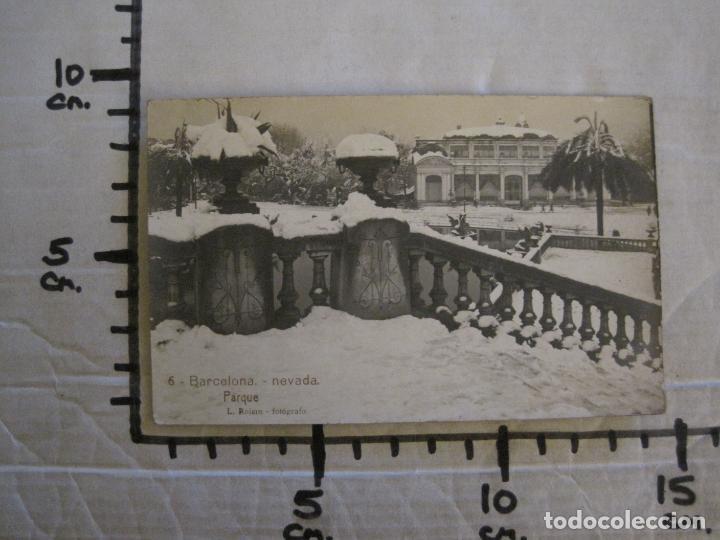 Postales: BARCELONA-NEVADA-PARQUE-FOTOGRAFICA ROISIN-6-POSTAL ANTIGA-(56.407) - Foto 7 - 148356146