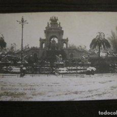 Postales: BARCELONA-NEVADA-PARQUE-FOTOGRAFICA ROISIN-6-POSTAL ANTIGA-(56.408). Lote 148356394