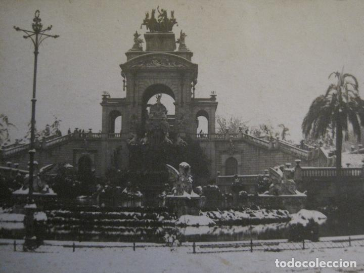 Postales: BARCELONA-NEVADA-PARQUE-FOTOGRAFICA ROISIN-6-POSTAL ANTIGA-(56.408) - Foto 2 - 148356394