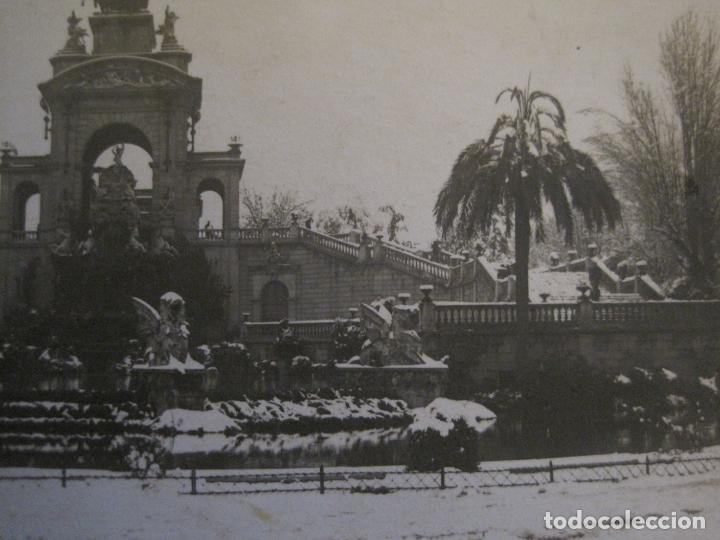 Postales: BARCELONA-NEVADA-PARQUE-FOTOGRAFICA ROISIN-6-POSTAL ANTIGA-(56.408) - Foto 3 - 148356394
