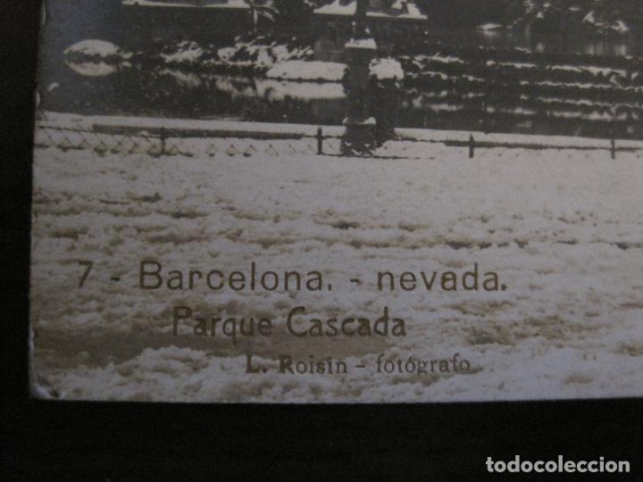 Postales: BARCELONA-NEVADA-PARQUE-FOTOGRAFICA ROISIN-6-POSTAL ANTIGA-(56.408) - Foto 4 - 148356394