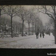 Postales: BARCELONA-NEVADA-PARQUE-FOTOGRAFICA ROISIN-16-POSTAL ANTIGA-(56.413). Lote 148357074