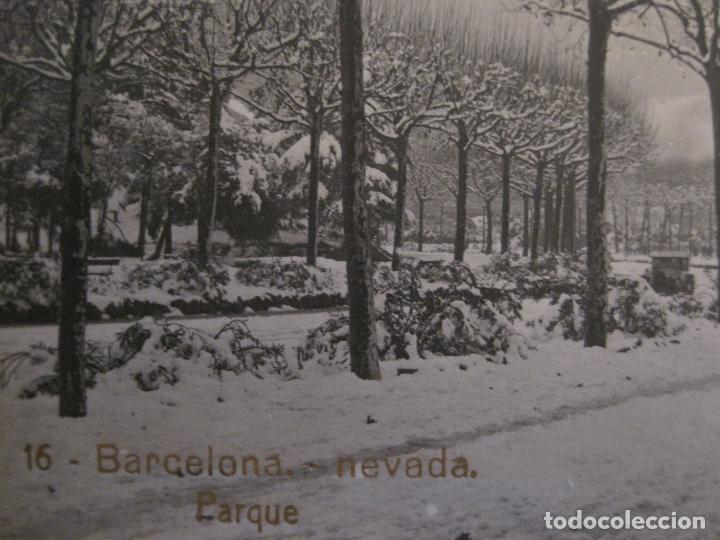 Postales: BARCELONA-NEVADA-PARQUE-FOTOGRAFICA ROISIN-16-POSTAL ANTIGA-(56.413) - Foto 4 - 148357074