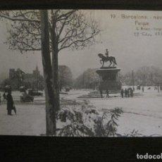 Postales: BARCELONA-NEVADA-PARQUE-FOTOGRAFICA ROISIN-19-POSTAL ANTIGA-(56.414). Lote 148357194