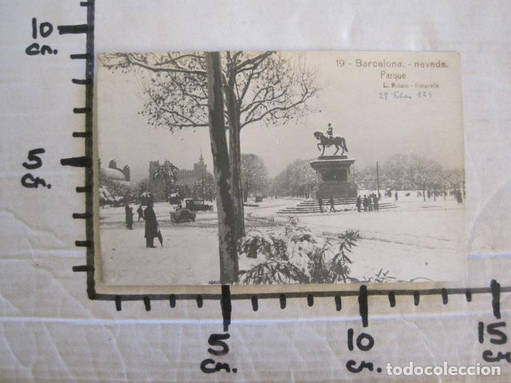 Postales: BARCELONA-NEVADA-PARQUE-FOTOGRAFICA ROISIN-19-POSTAL ANTIGA-(56.414) - Foto 6 - 148357194