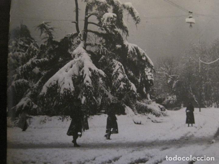 Postales: BARCELONA-NEVADA-PARQUE-FOTOGRAFICA ROISIN-20-POSTAL ANTIGA-(56.415) - Foto 3 - 148357402