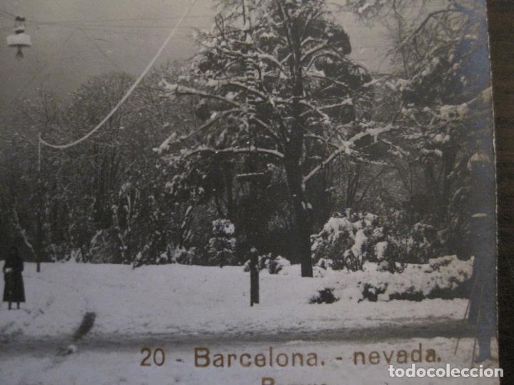 Postales: BARCELONA-NEVADA-PARQUE-FOTOGRAFICA ROISIN-20-POSTAL ANTIGA-(56.415) - Foto 4 - 148357402
