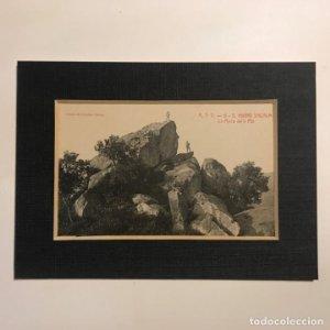 Sant Hilari de Sacalm. La Roca de'n Plá. Paspartú 18x13