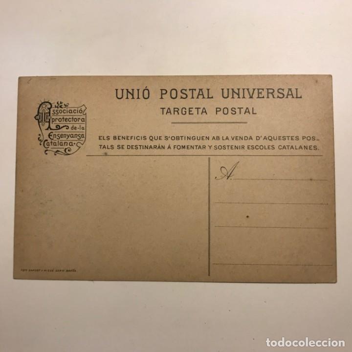 Postales: Plá del Llobregat. Corbera. Associació protectora de la Ensenyansa Catalana. Paspartú 18x13 - Foto 3 - 148626246