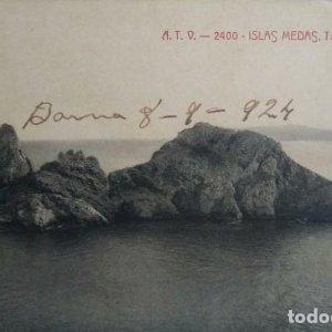 1924 ISLAS MEDAS Tascons grossos ILLES MEDAS