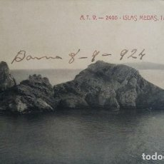 Postales: 1924 ISLAS MEDAS TASCONS GROSSOS ILLES MEDAS. Lote 139083498