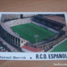 Postales: BARCELONA -- ESTADIO SARRIA. Lote 148731990