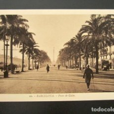 Postales: POSTAL BARCELONA. PUERTO. PASEO DE COLÓN. ROISIN. . Lote 148941998