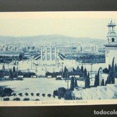 Postales: POSTAL BARCELONA. PARQUE DE MONTJUICH. ROISIN. . Lote 148942170