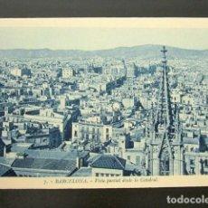 Postales: POSTAL BARCELONA.VISTA PARCIAL DESDE LA CATEDRAL. ROISIN. . Lote 148942290