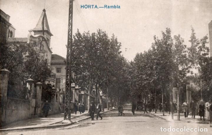 BARCELONA. HORTA. RAMBLA. FOTOGRÁFICA (Postales - España - Cataluña Antigua (hasta 1939))