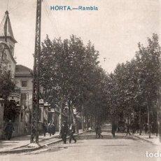 Postales: BARCELONA. HORTA. RAMBLA. FOTOGRÁFICA. Lote 149130858