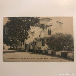 Dependencias del Hotel Restaurant Colonia Puig. Montserrat