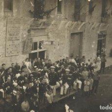 Postales: MATARÓ. FESTA DEL CARRER DE L'HABANA. L'HAVANA. BANDA MUNICIPAL. 1922. 9X13,5 CM. SIN CIRCULAR.. Lote 132135378