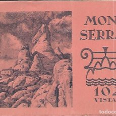 Postales: ALBUM 96 VISTAS * MONTSERRAT *. Lote 150254510