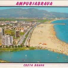 Postales: AMPURIABRAVA, VISTA AEREA, EMPURIABRAVA, GERONA. Lote 150277270