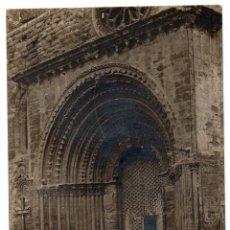 Postales: PS8037 AGRAMUNT 'DETALL DE LA ESGLESIA PARROQUIAL'. FOTOGRÁFICA. J.B. SIN CIRCULAR. Lote 150348998
