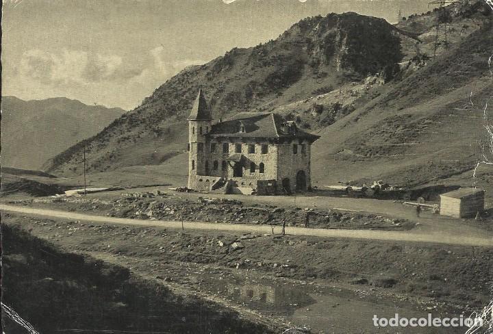 PUERTO DE LA BONAIGUA. LÉRIDA. IMPRENTA ELZEVIRIANA. LIBRERÍA CAMÍ. 1958. ESCRITA Y CON SELLO. (Postales - España - Cataluña Antigua (hasta 1939))