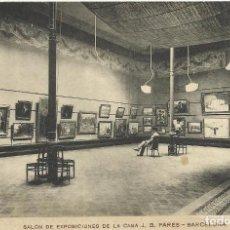 Postales: BARCELONA. SALÓN DE EXPOSICIONES DE LA CASA J.B. PARÉS. MISSÉ. SIN CIRCULAR. 9X14 CM. BUEN ESTADO.. Lote 150654874