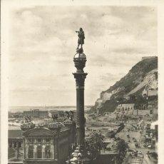 Postales: BARCELONA. MONUMENTO A COLÓN. ZERKOWITZ. 74. ESCRITA, CIRCULADA Y CON SELLO. BUEN ESTADO. 1959. . Lote 150659030