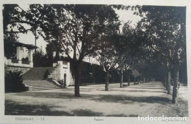 1950 FIGUERES PASEO (Postales - España - Cataluña Antigua (hasta 1939))