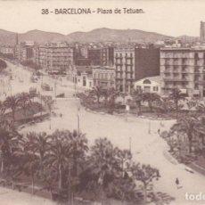 Postales: BARCELONA, PLAZA DE TETUAN. Lote 150805234