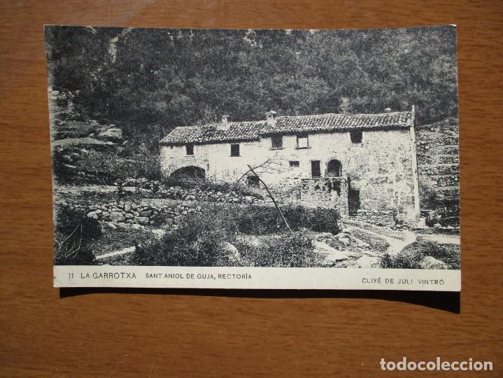 11. LA GARROTXA. SANT ANIOL DE GUJA. RECTORIA. - ASSOCIACIO PROTECTORA DE LA ENSENYANCA CATALANA (Postales - España - Cataluña Antigua (hasta 1939))