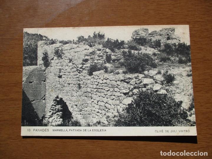 13. PANADES. MARMELLA. FATXADA DE LA ESGLESIA - ASSOCIACIO PROTECTORA DE LA ENSENYANCA CATALANA (Postales - España - Cataluña Antigua (hasta 1939))