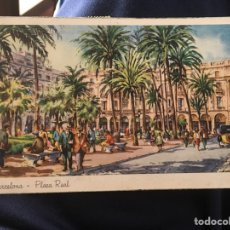 Postales: BARCELONA PLAZA REAL. Lote 150967198