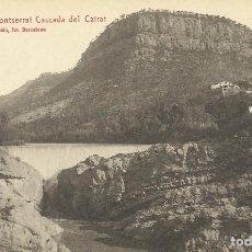 Postales: MONTSERRAT. LA PUDA DE MONTSERRAT CASCADA DEL CAIRAT. ROISIN. 11. SIN CIRCULAR. 9X14 CM.. Lote 150994026